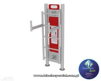 Podciąg nóg siłownia zewnętrzna fitness plac zabaw