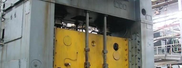 Prasa mechaniczna 2-korbowa-nacisk 1000 ton karoseryjna mod.KB-3540.-1