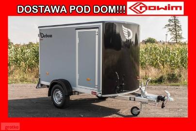 17.160 Przyczepa Debon C255 z drzwiami bocznymi kontener furgon bagażowa Cheval Liberte nowe przyczepy Nowim