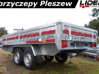 TM-078 przyczepa Transporter 3015/2 0,75t, 304x153x30cm, uniwersalna, platforma, lekka DMC 750kg-1