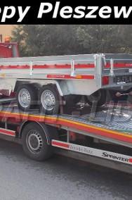 TM-078 przyczepa Transporter 3015/2 0,75t, 304x153x30cm, uniwersalna, platforma, lekka DMC 750kg-2