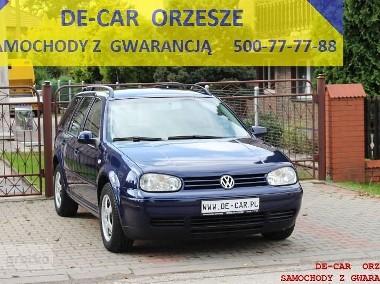 Volkswagen Golf IV GOLF KOMBI 1,4 CLIMATRONIC, SUPER STAN, GWARANCJA-1