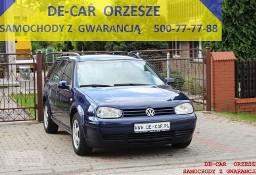 Volkswagen Golf IV GOLF KOMBI 1,4 CLIMATRONIC, SUPER STAN, GWARANCJA