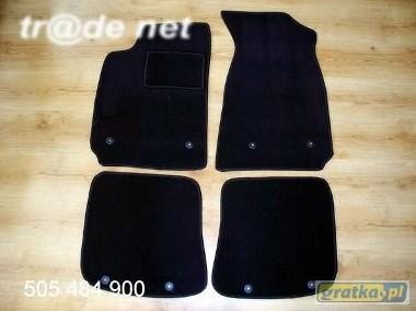 AUDI A4 B5 sedan 1995 - 10.2000 najwyższej jakości dywaniki samochodowe z grubego weluru z gumą od spodu, dedykowane Audi A4-1
