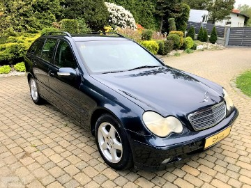 Mercedes-Benz Klasa C W203 2.2 CDI 116 KM 6-Biegów Bezwypadek! ESP ASO Merc!