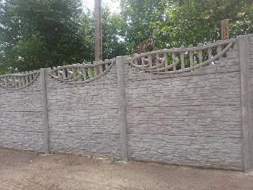 Pomysł na ogrodzenie posesji / ogrodzenie systemowe