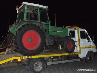 transport ciągników maszyn rolniczych budowlanych wyjazdy 24h F-Y VAT-1