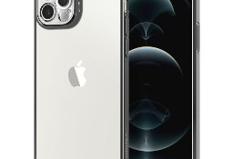Etui Spigen Optik Crystal do iPhone 12 Pro Chrome Grey