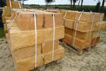 Kamień murowy murak rzędowy cięto łupany 20x20x40 cm