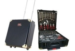 walizka na kółkach z narzędziami