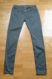 Damskie spodnie kolor khaki