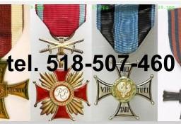 Kupie stare ordery, medale,odznaki, odznaczenia tel. 518-507-460