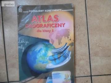 Atlas geograficzny dla kl.5 szkoła podstawowa