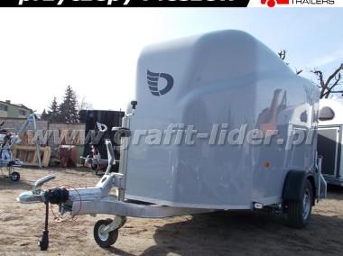 DB-003 bagażowa, do motocykli 300x150x170cm, hamowana Debon Cheval Liberte Furgon Cargo 1300.02 + drzwi boczne, DMC 1300kg-1