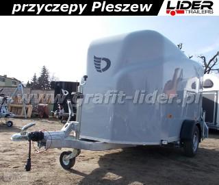 DB-003 bagażowa, do motocykli 300x150x170cm, hamowana Debon Cheval Liberte Furgon Cargo 1300.02 + drzwi boczne, DMC 1300kg