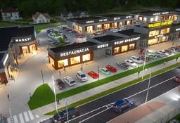 """Nowy obiekt  """"PARK Handlowo-usługowy Kartuzy""""  odrębne lokale, duży parking"""