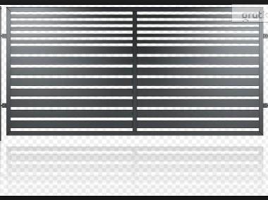 Przęsło ogrodzeniowe, nowoczesny design, panel ogrodzeniowy D-03-1