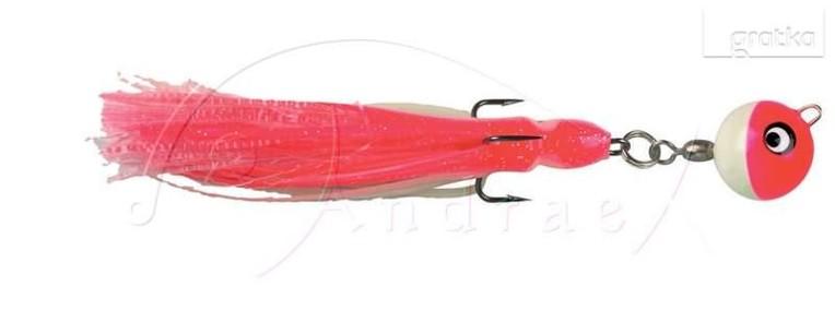 120g jig dorszowy 23cm różowo-biały kotwica 5/0-1