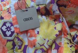 (36/S) ASOS/ Ekskluzywna narzutka plażowa, płaszcz plażowy, kamizelka, kardigan