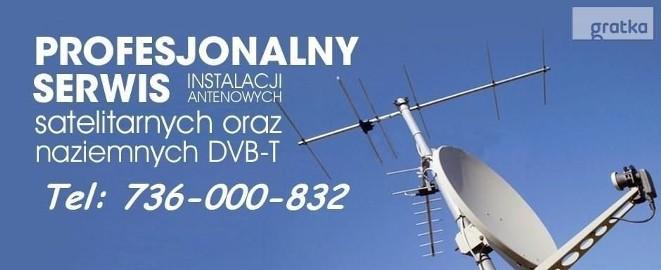 Montaż Naprawa Instalacji Ustawianie Anten Satelitarnych i DVBT Kielce i okolice najtaniej Gwarancja