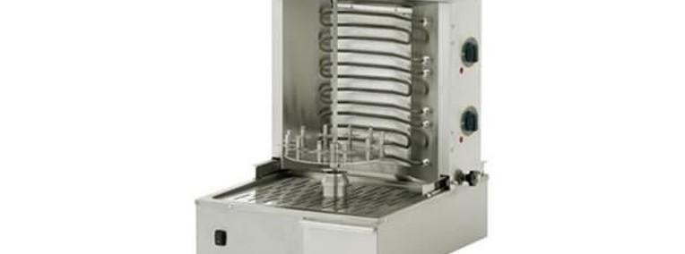 Elektryczny opiekacz do kebaba 15 kg 3,6kW 3 grzałki-1