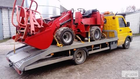 transport maszyn rolniczych laweta przewóz maszyn rolniczych Latowicz
