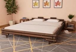 vidaXL Rama łóżka, ciemnobrązowa, bambusowa, 180 x 200 cm 247295