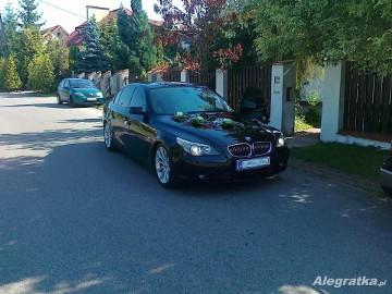 Samochód do Ślubu BMW E60 545i