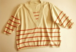 Sweter w dwóch kolorach  46  Camilla