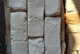 płytka rustykalna biała, wymiary 185x60x15 mm., 8 m2 sprzedaż w całości