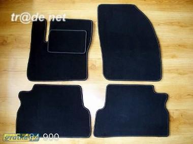 Ford C-MAX od 10.2003 do 2010 r. najwyższej jakości dywaniki samochodowe z grubego weluru z gumą od spodu, dedykowane Ford Focus-1