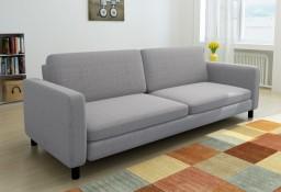 vidaXL Sofa 3 osbowa jasnoszara tkanina244302