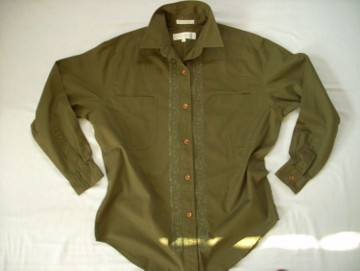 Koszula Zielona Bawełna Haft 36 38
