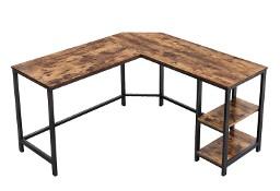 Biurko narożne w stylu industrialnym. Rustykalne, loft.