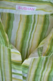 ŚLICZNA bluzka Koszula Plisowana Wiosna j NOWA 40 42 L XL-2