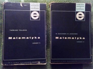Podręczniki akademickie Matematyka