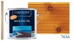 Ciranova DECKING OIL olej tarasowy do mebli, altanek, elewacji, płotów 2,5L teak