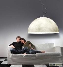 Lampy półkule z włókna szklanego Dowolne kolory Duże rozmiary do 120