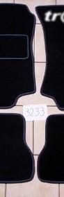 VW Vento 1992-1998 najwyższej jakości dywaniki samochodowe z grubego weluru z gumą od spodu, dedykowane Volkswagen Vento-4