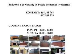 Garaże blaszane 4x5, 4x6, 3x5, 2x3 6x5,6x6  Blaszaki,wiaty,hale stalowe,bramy.