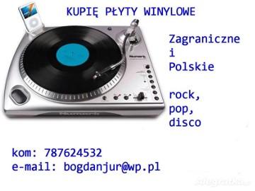 Warszawa .Skup . Kupię płyty winylowe i polski gramofon do kolekcji