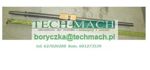 Śruba wzdłużna do frezarki Heckert F315/E tel. 601273539