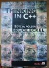 Thinking in C++ Edycja Polska Bruce Eckel Helion