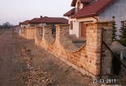 Kamień na ogrodzenie naturalny piaskowiec ogrodowy murowy rzędowy
