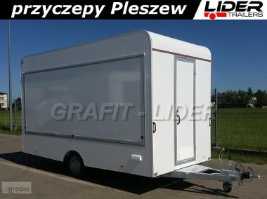 Przyczepa TP-035 TH 422.01, 420x200x230cm, przyczepa handlowa, DMC 1300kg-1