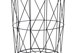 vidaXL Stolik kawowy, czarny, Ø 47 cm287654