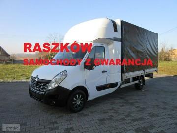 Renault Master master 2.3 170 km polski salon 8 paletowy plandeka TWIN CAB winda