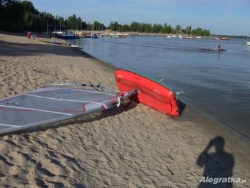 Deska windsurfingowa pompowana