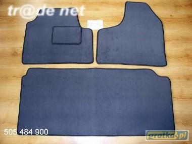 Peugeot 806 1994-2002 3 rzędy najwyższej jakości dywaniki samochodowe z grubego weluru z gumą od spodu, dedykowane Peugeot 806-1