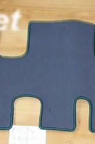 Peugeot 806 1994-2002 3 rzędy najwyższej jakości dywaniki samochodowe z grubego weluru z gumą od spodu, dedykowane Peugeot 806-2